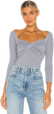 Stevie Top in Blue. - size L (also in XS)