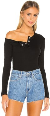 Harley Top in Black. - size M (also in S, XS)