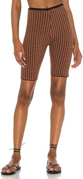 Rumba Short in Brown. - size L (also in M, S, XS)
