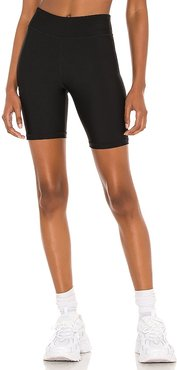 Matte Spin Short in Black. - size L (also in M, S, XS)