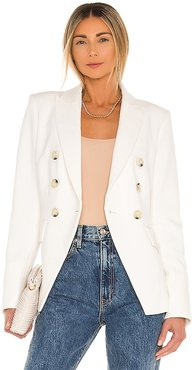 Miller Dickey Jacket in White. - size 2 (also in 4, 6)