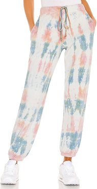 Hallie Pant in Grey,Pink. - size L (also in M, S, XS)