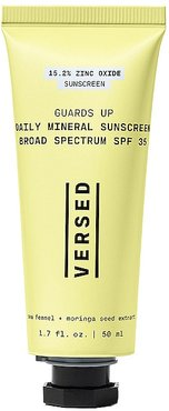 Guards Up Daily Mineral Sunscreen Broad Spectrum SPF 35 in Beauty: NA.