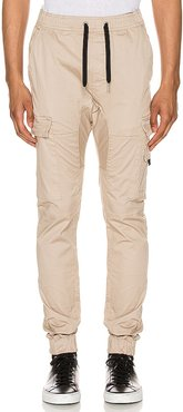 Sureshot Lite Cargo Jogger in Taupe. - size 29 (also in 30, 34)