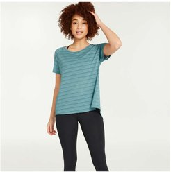 Mesh Insert Tee, Cool Green (Size XS)