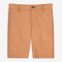 Kid Boys' Cotton Shorts, Camel (Size 6)