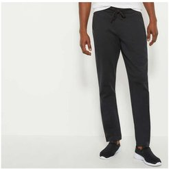 Zip Pocket Active Joggers, Black (Size XS)