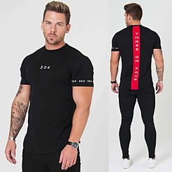Short Sleeve Workout Tops Running Shirt Tee Tshirt Top Athleisure Summer Cotton Breathable Soft Sweat Out Fitness Gym Workout Performance Running Trainin