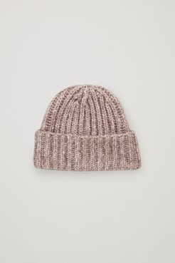 COTTON-YAK KNITTED HAT