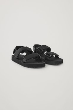 RECYCLED WEBBING SANDALS
