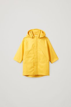PANELLED RAINCOAT