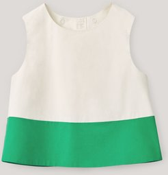 CROPPED COTTON TOP