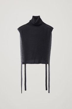SHEER KNITTED TUNIC