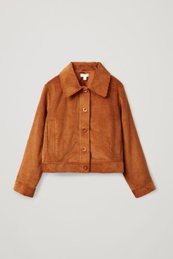 ORGANIC COTTON CORDUROY WORKWEAR JACKET