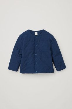 ORGANIC COTTON QUILTED JACKET