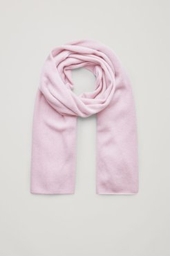 UNISEX KNITTED CASHMERE SCARF