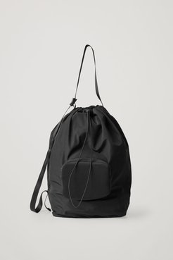 PACKABLE DRAWSTRING BAG