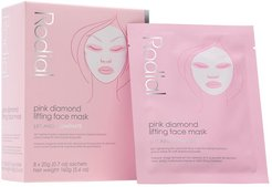 Pink Diamond Lifting Face Mask: 8 Pack