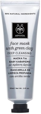 Face Mask With Green Clay 50ml