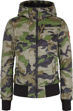 Dore red shell bomber jacket