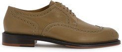 Roli2 taupe leather brogues