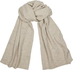 Caliope crystal-embellished cashmere scarf