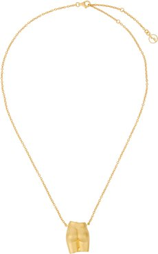 Le Derriere 18kt gold-plated necklace