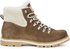 Camelia shearling-lined ankle boots