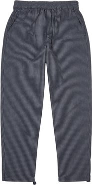 Halsey checked cotton trousers