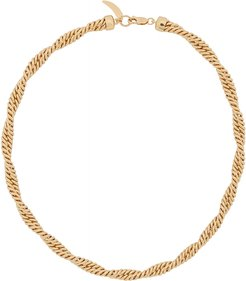 Marina 18kt gold-plated chain necklace