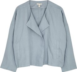 Light blue linen jacket