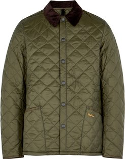 Liddesdale green quilted shell jacket