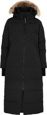 Mystique Fusion Fit fur-trimmed Arctic-Tech coat