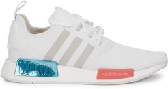 NMD R1 white mesh sneakers