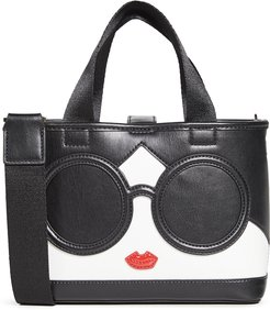 Ashley Mini Stacey Face Crossbody Tote