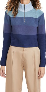 Cropped Zip Pullover