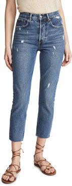 The Billy High Rise Rigid Jeans