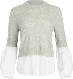 Ebbi Layered Crew Looker Sweater
