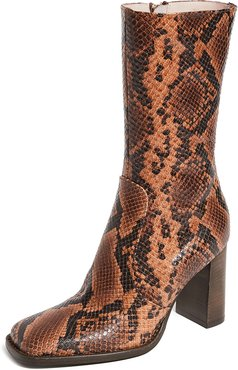 Lauryn Stamped Snake Boots