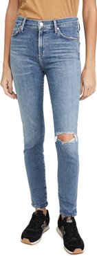Rocket Ankle Mid Rise Skinny Jeans