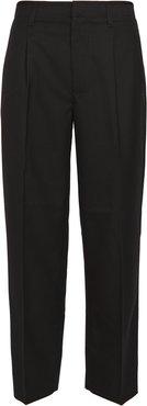 Cropped Side Panel Trousers