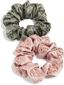 Deepa by Deepa Gurnani Naira Scrunchie Set of 2