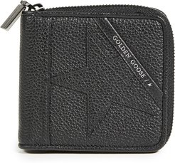 Star Medium Zip Wallet