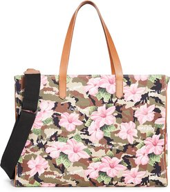 California Hibiscus Camouflage Bag