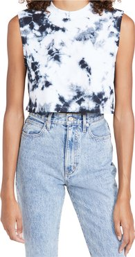 The Sleeveless Crop Tee