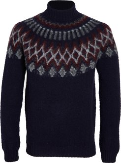 Love On The Rocks Wool Turtleneck Sweater