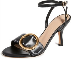 Buckled High Sandals