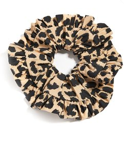 Pleated Edge Scrunchie