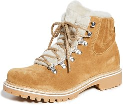 Camelia Shearling Lining Boots