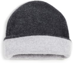 Double Layer Cashmere Beanie